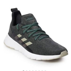 NEW ADIDAS ASWEEGO GREEN MEN RUNNING SNEAKERS